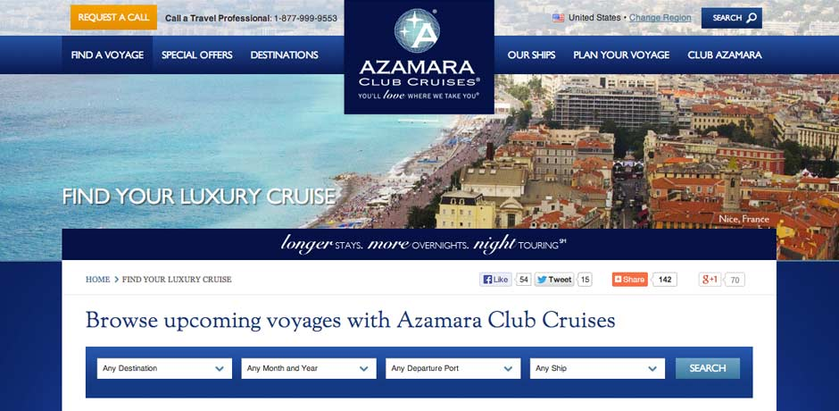 Azamara Club Cruises Slide 2