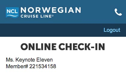Norwegian Cruiselines Mobile